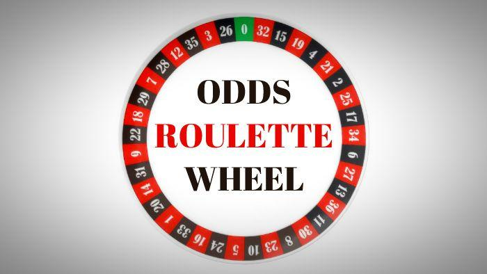 Roulette wheel odds allow you to play as efficiently and profitably as possible