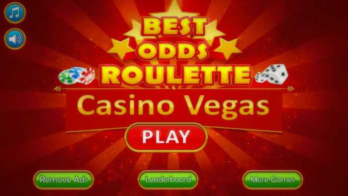Best odds in roulette depend on the strategy used by the player